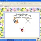 Flower Child Floral Template