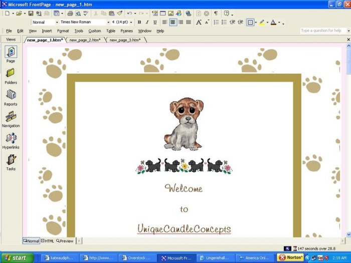 A Dogs World Animal Template