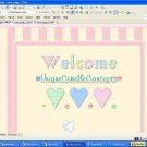 Baby Girl Pink Stripes Baby Template