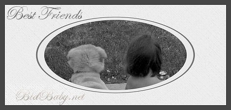 Best Friends - Framed