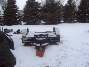 Heavy Duty Toy/Tractor Hauler/Trailer!