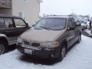 Pontiac Montana Minivan Loaded!