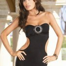 Tube Dress Set with Side Cutouts Size S,M,L