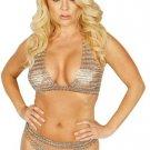 Chain Mail Bikini Set. One Size