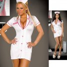 Nurse Set with Scalloped Lace Trim. Size 1X-2X.