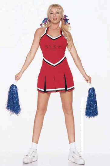 Cheerleader Costume Size M/L.