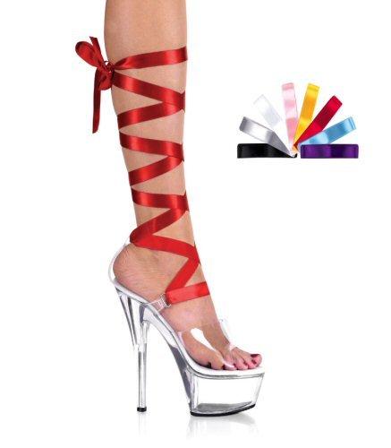"""6"""" Heel Lace-Up Platform Sandal W/Interchangeable Laces. Size 5-14"""