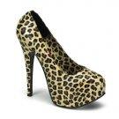"""BD- 5 3/4"""" Heel, 1 3/4"""" Concealed Platform, Cheetah Print Pump"""