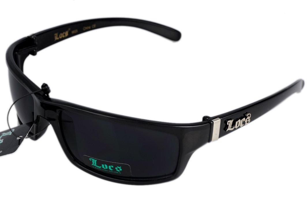 LOCS Sunglasses Ganster Style 52 Free Micro Fiber Bag NWT