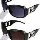 2 DG Eyewear 163 Sunglasses 1 Black 1 Brown/Tort NWT!