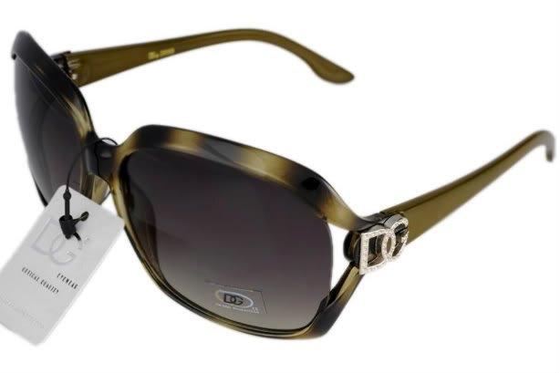 DG Eyewear Green JE59562N Sunglasses w/Micro Fiber Bag