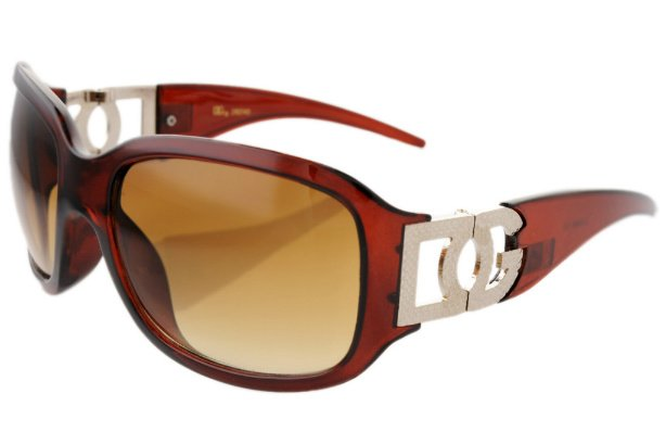 DG Eyewear Brown 042 SUNGLASSES w/Micro Fiber Bag