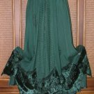 Fab Gypsy Elements Dancing Skirt Velvet 4 Colors!