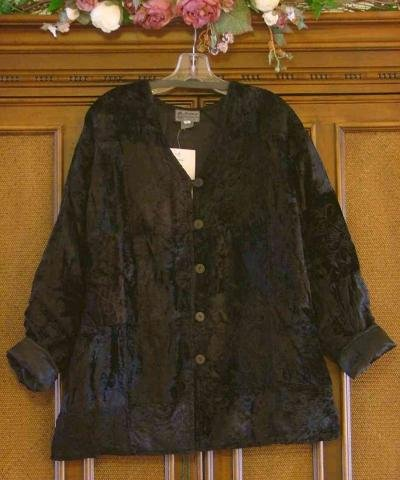 Artsy  No Match Patch Velvet Hippie Jacket S -Roomy