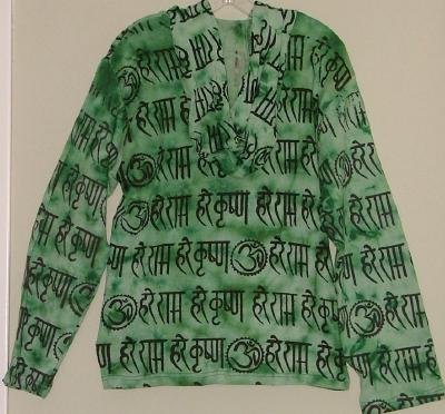 New Funky Sanskrit Heavy Knit Sanskrit Hoodie Nepal S-M SALE