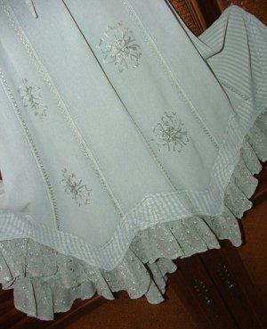 Fab Hippie Desert Sage Skirt Spring Fling! S M or L