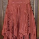 Gorgeous Jaggedy Gypsy Skirt Ruched Godets