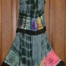 Way Hip Tie Dye 2 Piece Spinny Skirt Sets