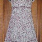 Poufy Pocket Empire Style 2 Way Urban Hippie Dress Purples L Only