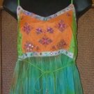 One of A Kind Funky Gypsy Jangle Bells  Top S or M $38 MSRP