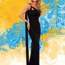 Sash Gown With Swarovski Crystal