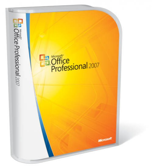 Microsoft Office 2007 Professional Edition - Upgrade