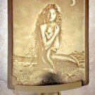 MERMAID MOTHER & CHILD PORCELAIN NIGHT LIGHT by DAVID DELAMARE