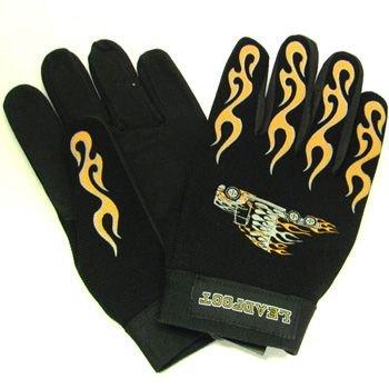 Light Men's Amara Palm Trailer Trucker Suede Gloves L