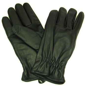 Men's Anline Leather Thinsulate Lining Riding Gloves M