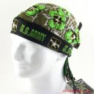 US ARMY - PIRATE SKULL BANDANNA BIKER BANDANA SCARF HAT