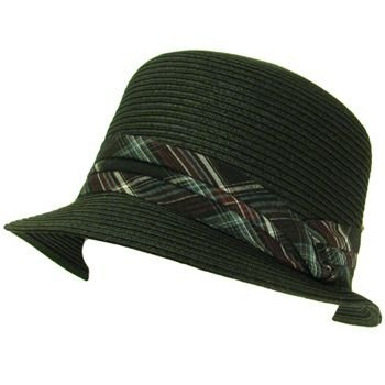 NWT UPF 50+ Sun Beach Flat Top Bucket Crusher Hat Black