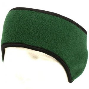 Winter Ski Fleece Headband Headwrap Ear Warmer Green