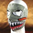 AIRPLANE NEOPRENE FULL FACE MASK NOSE MOUTH VENT SNOW