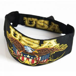 Choptop Bandana Head Du Wrap Headband BIKER Eagle USA