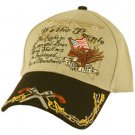 2nd Amendment We the People Bear Arms Cap Hat Khaki