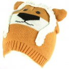 Winter Knit Lion Animal 2ply Beanie Snow Ski Hat Cap