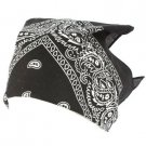8 Color Cotton Bandana Head Wrap Headband Scarf Paisley