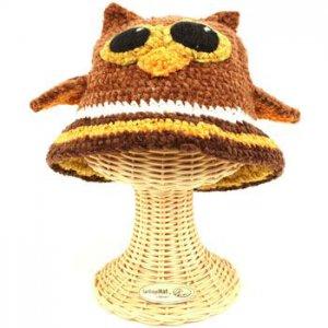 San Diego Hat Co Kids 1-2 Beanie Handknit Owl Animal