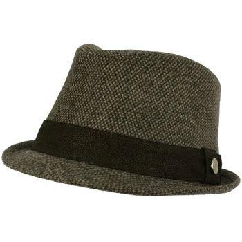 Unisex Winter Classic Wool Blend Stingy Brim Faux Leather Hatband Hat Black L/XL