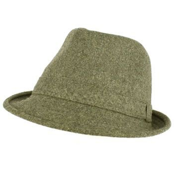 Men's Winter Classic Wool Solid Fedora Trilby Gangster Mob Cap Hat Gray L/XL