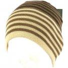 Winter San Diego Hat Co 2py Wool Soft Stripe Knit Beanie Skull Snow Ski Brown