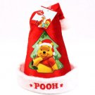 Kids Disney Winnie the Pooh Velour Santa Christmas Hat