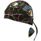 Ride the Wind Eagle Bandana Headwrap Headscarf Adjustable Cap Hat Black Purple