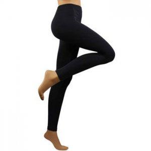 Ladies Active Yoga Dancer Summer Spandex Footless Ankle Leggings Stretchy Navy