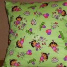 ~ SALE ~ 2 DORA FABRIC THROW PILLOW COVER GRANNY APPLE GREN