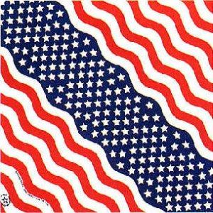 AMERICAN FLAG BANDANA SCARF HANDKERCHIEF