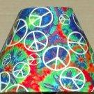 Peace Sign  Fabric Lampshade Lamp Shade PATTERN PAINT SPLASH 6459