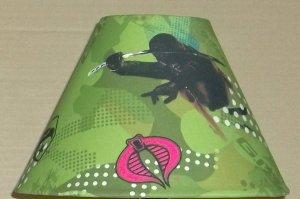GI JOE Fabric Lampshade Lamp Shade COBRA CAMO CAMAUFLAGE 6459