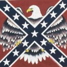 EAGLE REBEL FLAG BANDANA SCARF HANDKERCHIEF