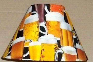 Mancave Fabric Lampshade lamp shade Beer Mug Mugs 6459